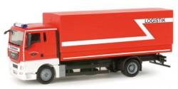 MAN TGX Planen-LKW Feuerwehr Köln Logistik