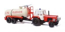 Fortschritt ZT 300 Feuerwehr Theisa mit Anhänger HTS 100