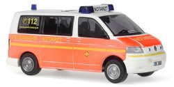 VW T5 NEF Feuerwehr Hamburg Barmbek