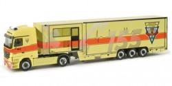Mercedes Benz Actros LH Koffer-SZ ELW Rettungsdienst Prag