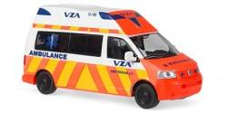 VW T5 Honris Silver Ambulance VZA Amsterdam