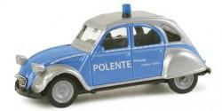 Citroen 2CV Polizei Schleswig Holstein Polente