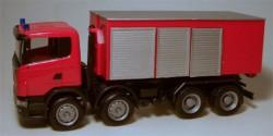 Scania R 04 Abrollcontainer-LKW Feuerwehr