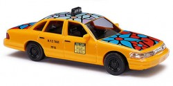 Ford Crown Victoria Taxi New York 'blue flower'