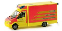 Mercedes Benz Sprinter 06 RTW Rettungsdienst Holzminden