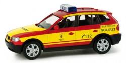 BMW X3 NEF Feuerwehr München