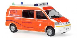 VW T5 U-Dienst Feuerwehr Hamburg