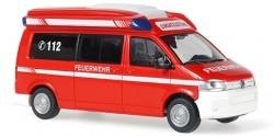 VW T5 TDS invents Rhombus ELW Feuerwehr