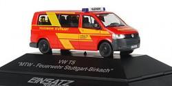 VW T5 MTW Feuerwehr Stuttgart