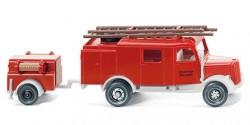 LF 6 Feuerwehr mit Anhänger
