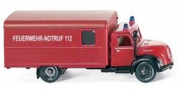 Magirus Rundhauber Koffer-LKW Feuerwehr