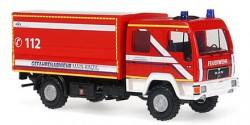 MAN Dekon-P Gefahrenabwehr Feuerwehr Main-Kinzig