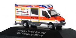 Mercedes Benz Sprinter Tigis Ergo RTW BRK Erprobungsfahrzeug