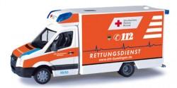VW Crafter Fahrtec RTW DRK Büdingen
