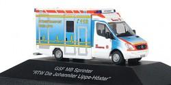 Mercedes Benz Sprinter RTW Johanniter RV Lippe-Höxter