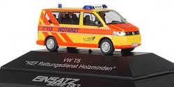 VW T5 NEF Rettungsdienst Holzminden