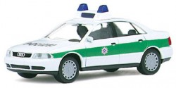 Audi A4 Limousine Polizei