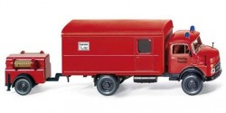 Mercedes Benz L 710 Koffer-LKW mit Anhänger Feuerwehr