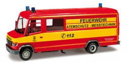 Mercedes Benz Vario Atemschutz-Messtechnik Feuerwehr München
