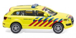 Audi Q7 NEF Ambulance Niederlande