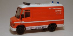 Mercedes Benz 609 D Ambulance RTW