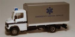 Mercedes Benz Pritsche/Plane Rettungsdienst