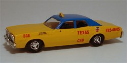 Dodge Monaco Taxi Texas