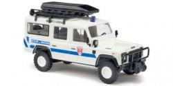 Land Rover Defender Bergrettungsdienst Frankreich