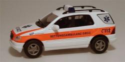 Mercedes Benz M-Klasse Rettungsambulanz NEF