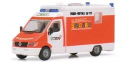 Mercedes Benz Sprinter Feuerwehr RTW Sindbad