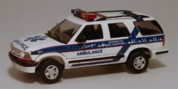 Chevrolet Blazer Bangs Ambulance