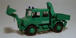 Mercedes Benz Unimog Polizei Bergräumgerät