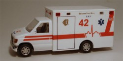 Ford E-350 Chicago Fire Department Ambulance