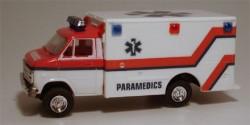 Chevrolet Van Paramedics Ambulance