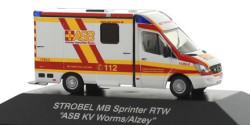 Mercedes Benz Sprinter RTW ASB Worms