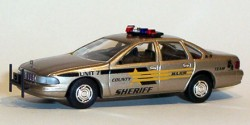 Chevrolet Caprice Sheriff Major County Hundestaffel