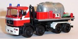 MAN Feuerwehr CO2-Löschmittel-Container