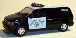 Dodge Van CHP Crime Scene Investigation