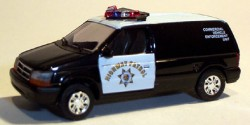 Dodge Van CHP Commercial Vehicle Enforcement