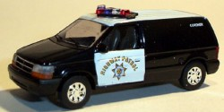 Dodge Van CHP Coroner