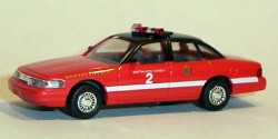Ford Crown Victoria Chicago Fire Department