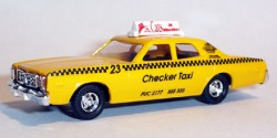 Dodge Monaco Checker Taxi