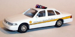 Ford Crown Victoria Illinois Highway Patrol