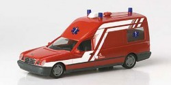Mercedes Benz W210 Binz Ambulance Luxemburg KTW