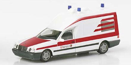 mercedes benz w210 binz rettungsdienst halle herpa 045780 modellautos 1 87. Black Bedroom Furniture Sets. Home Design Ideas