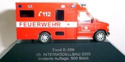 Ford E-350 Feuerwehr RTW