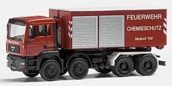 MAN TGA M Abrollcontainer Feuerwehr Chemieschutz