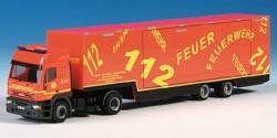 Iveco Eurostar Feuerwehr Hamburg MOBAS