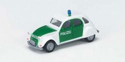 Citroen 2CV Polizei