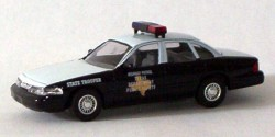 Ford Crown Victoria Texas Highway Patrol